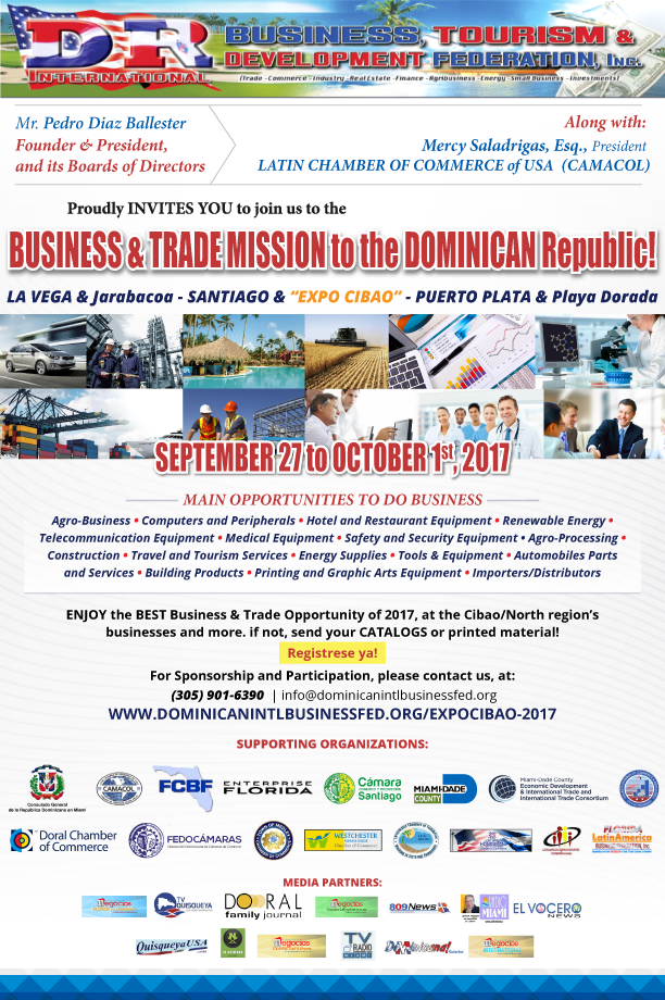 Business & Trade Mission to Dominican Republic