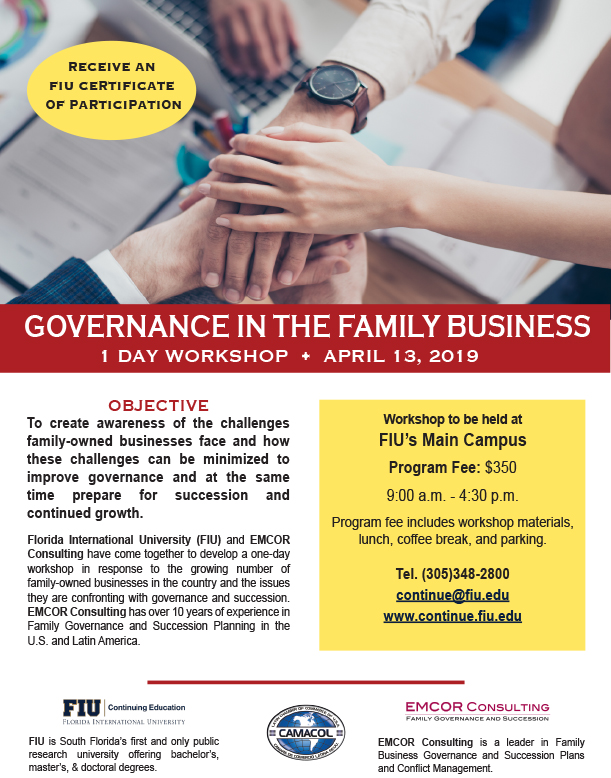 Governance in Family Business - Workshop